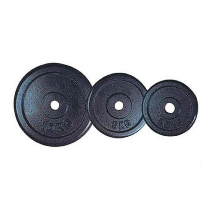 Диски обрезиненные черные JAGUAR-SPORT 0.5-25 кг