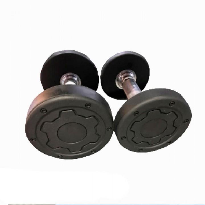 Гантели обрезиненные JAGUAR-SPORT 2.5-50 кг