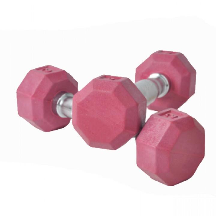 Гантели гексагональные цветные JAGUAR-SPORT 1-80 кг