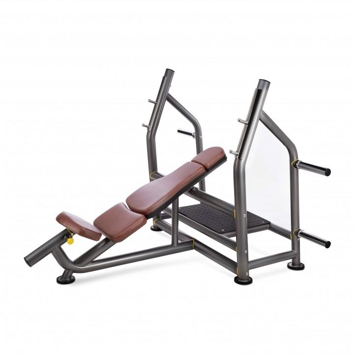 Олимпийская наклонная скамья для жима JAGUAR-SPORT IS6238