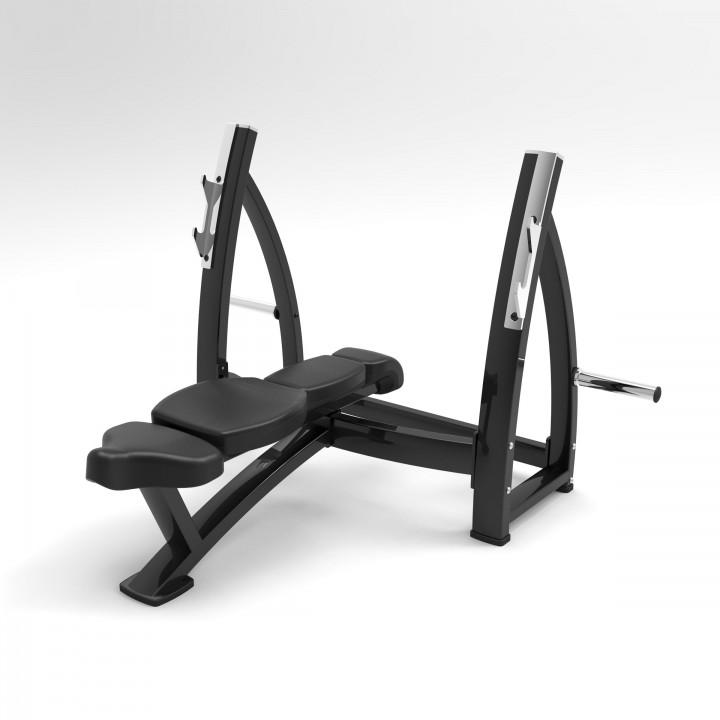 Олимпийская скамья для жима прямая Elite73 JS7339